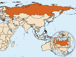 russia map border countries who russian federation