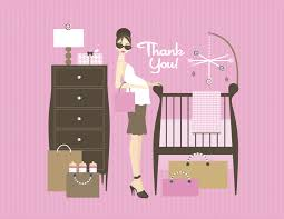 photo baby shower thank you cards image