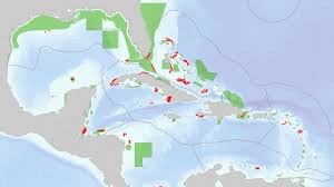 Map Of Coral Reefs Wiring Up The Caribbean Designing Marine Protected Areas For