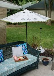 Paint Patio Umbrella Patio Umbrella Repair And Refresh Patio Umbrellas Diy Patio And