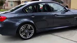 Bmw M3 Colour 2015 Bmw F80 M3 Mineral Grey Metallic Youtube