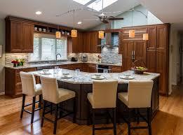 Open Floor Kitchen Designs Open Floor Plan Kitchen Renovation In Northern Virginia
