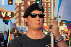 Why Is The American Flag Backwards On Uniforms Time To Start Yelling Again U0027 For Transgender Veterans In Missouri