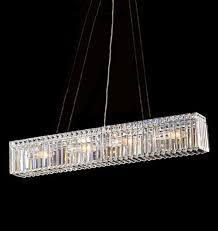kitchen island montreal rectangular linear chandelier 23504 montreal