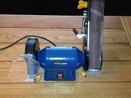 bench grinder and belt sander workzone aldi excellent condition
