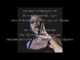 my immortal evanescence testo evanescence my immortal testo e traduzione ita lyrics with