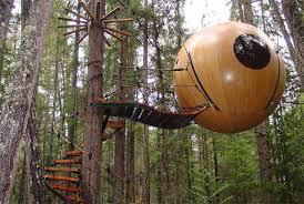 hotel free spirit spheres vancouver island spot cool