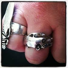 car rings images Car grille rings hot rod jewelry automotive jewelry classic jpg