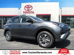 toyota sport utility vehicles new 2017 toyota rav4 hybrid xle hd085866 toyota of sarasota