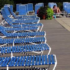 Restrapping Patio Chairs How To Re Patio Chairs Hunker