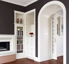 Small Bookcases With Glass Doors Furnitures Elegant Hallway Decor In Small Bookcase With Glass