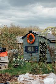 Shed Style House by Gardening Make Do And Mend Allotment Style Lobster And Swan