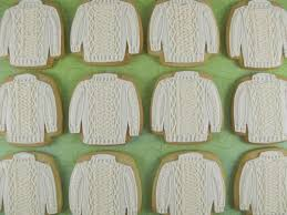 sweater cookies knit sweater cookies sugar cookies sugaring and
