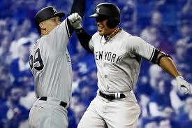 How Aaron Judge Became A Bomber The Inside Story Of The Yankees - giancarlo stanton finally has smash brother in yankees teammate