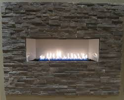 furniture stone gas fireplace for wall design ideas
