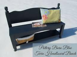 headboard bench with storage shelf hometalk