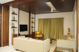 living room with white sofas by samanth gowda architect in