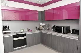 cuisine gris et une cuisine originale en et gris modern kitchen cabinets