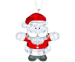 santa clause pictures santa claus ornament decorations swarovski online shop
