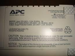 apc backup ups 650 cs uszkodzony czy wymiana akumulatora