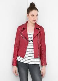 biker jacket women mango