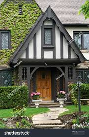 Tudor Style Cottage Tudor Style House Front Vines Stock Photo 277653320 Shutterstock
