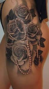 best 25 flower thigh tattoos ideas on pinterest flower tattoos