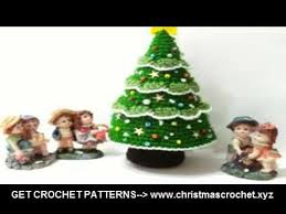 crochet christmas tree gifts free crochet patterns youtube
