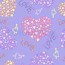 easter wrapping paper vector seamless pattern heart decor design greeting cards