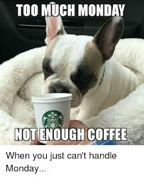 Too Much Coffee Meme - too much monday not enough coffee when you just can t handle