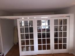 best temporary walls u2014 sliding french door partitions
