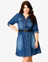 curvy glam deal forever 21 denim shirt dress inher glam