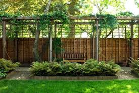 Privacy Fence Ideas For Backyard Privacy Fencing Ideas For Backyards Privacy Fence Landscape Ideas
