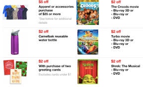 target in store coupons black friday target new mobile coupons valid on movies apparel u0026 more