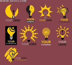 l lighting company ideas icon design material logo eps vector