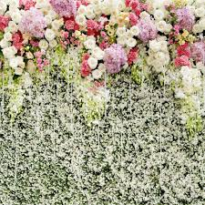wedding backdrop of flowers white pink lilac flowers wall wedding photography backdrop