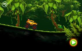 videos of monster trucks for kids jungle monster truck adventure race android apps on google play