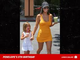 kourtney kardashian celebrates daughter penelope u0027s 5th birthday