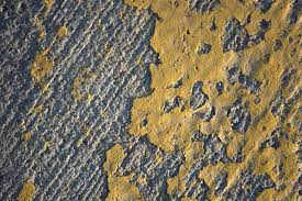 Grey Textured Paint - free photo texture paint road yellow grey free image on