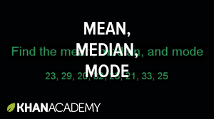 mean median mode range and outliers lessons tes teach
