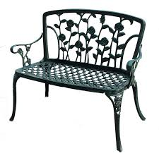 Noble House Outdoor Furniture by Gavea Patio Bench Antique Green Contemporary Outdoor Benches