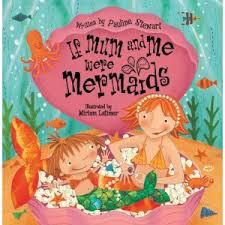 fantastic fiction kids mermaids playing book