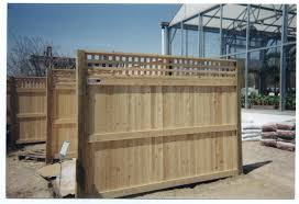 4 Ft Fence Panels With Trellis Privacy Fence Installatin Ma