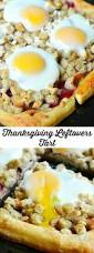 recipe for thanksgiving leftovers thanksgiving leftovers tart turkey stuffing cranberry and egg