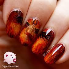 hell nail art piggieluv my 14 favorite nail art designs of 2014