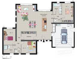 plan maison en l plain pied 3 chambres plan maison contemporaine plain pied chambres 3738 klasztor co