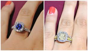 color diamond rings images Engagement jpg