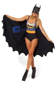 Batgirl Halloween Costume Accessories Batgirl Costume Halloween Dress Cape Cosercosplay