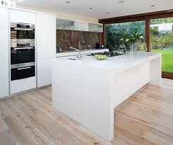 White Island Kitchen Cool Kitchen Beautiful Island Design With The Marble Modern White