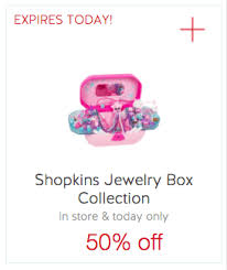 target black friday online shopping shopkins today only save 50 off shopkins jewelry box collection at target